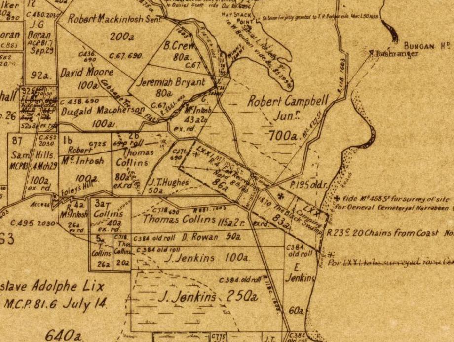 Kitchener Park Mona Vale Map