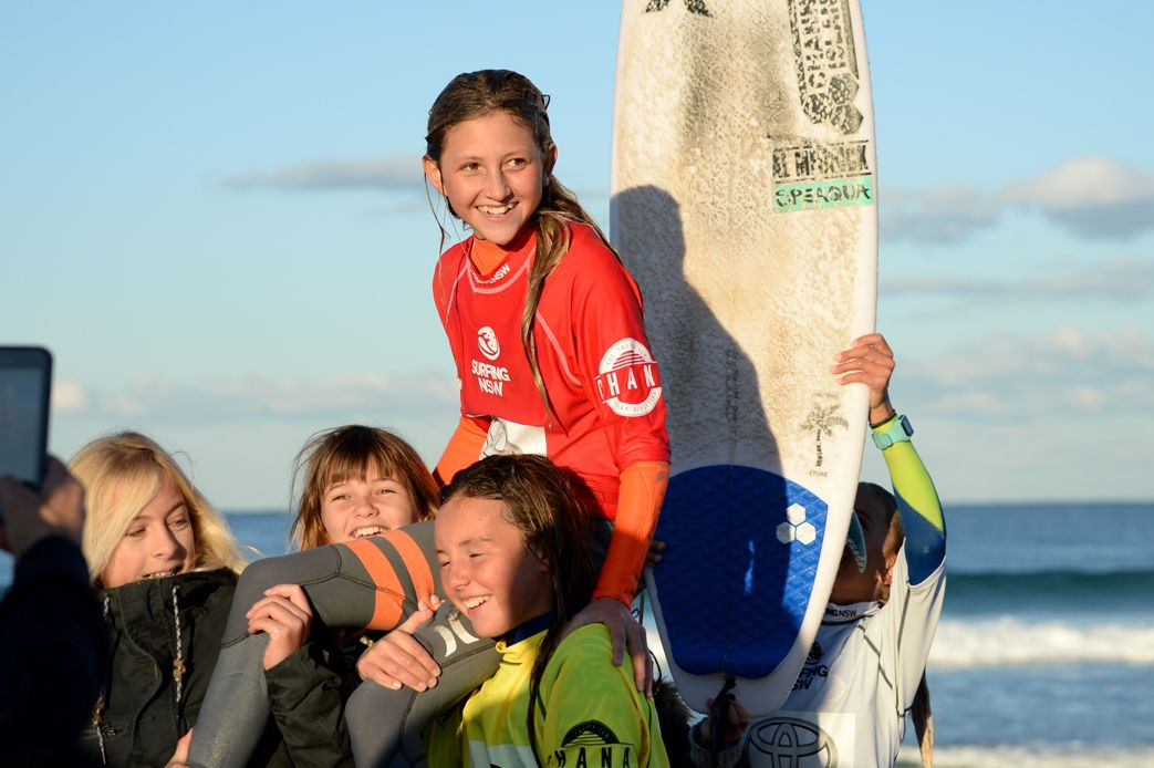 189877da84 Under-14 Girls champion Cedar Leigh-Jones (Avalon) - photo by Ethan Smith    Surfing NSW