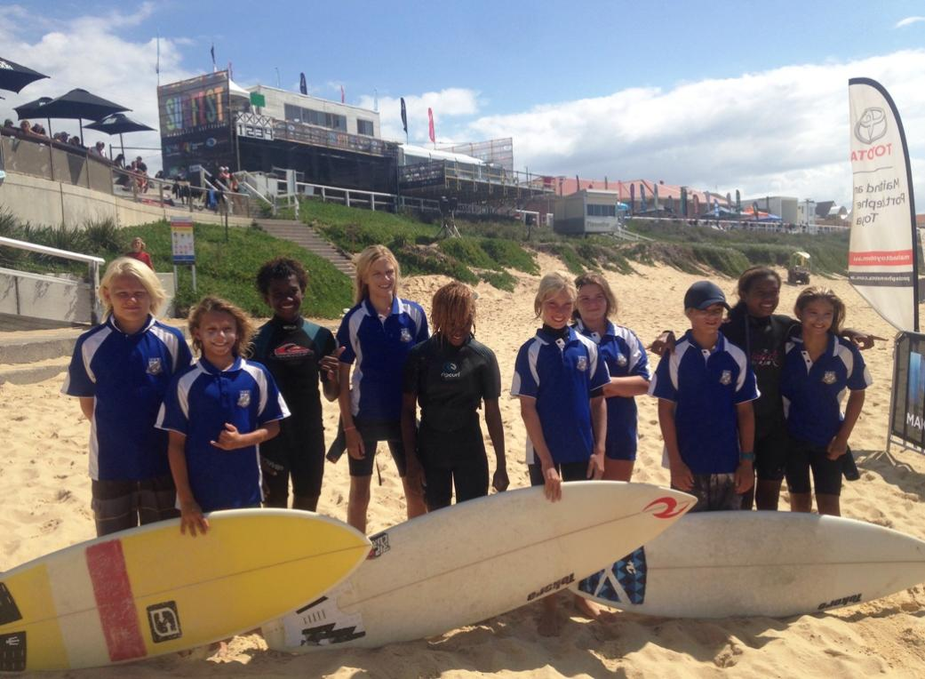 a4a75d08dbcb Narrabeen Sports High School Surfers Excel In Their Surfest 2017 Quest   Donation Of Boards To Vanutau Students A Highlight