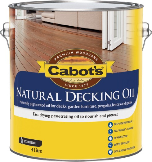Cabot S Natural Decking Oil Price