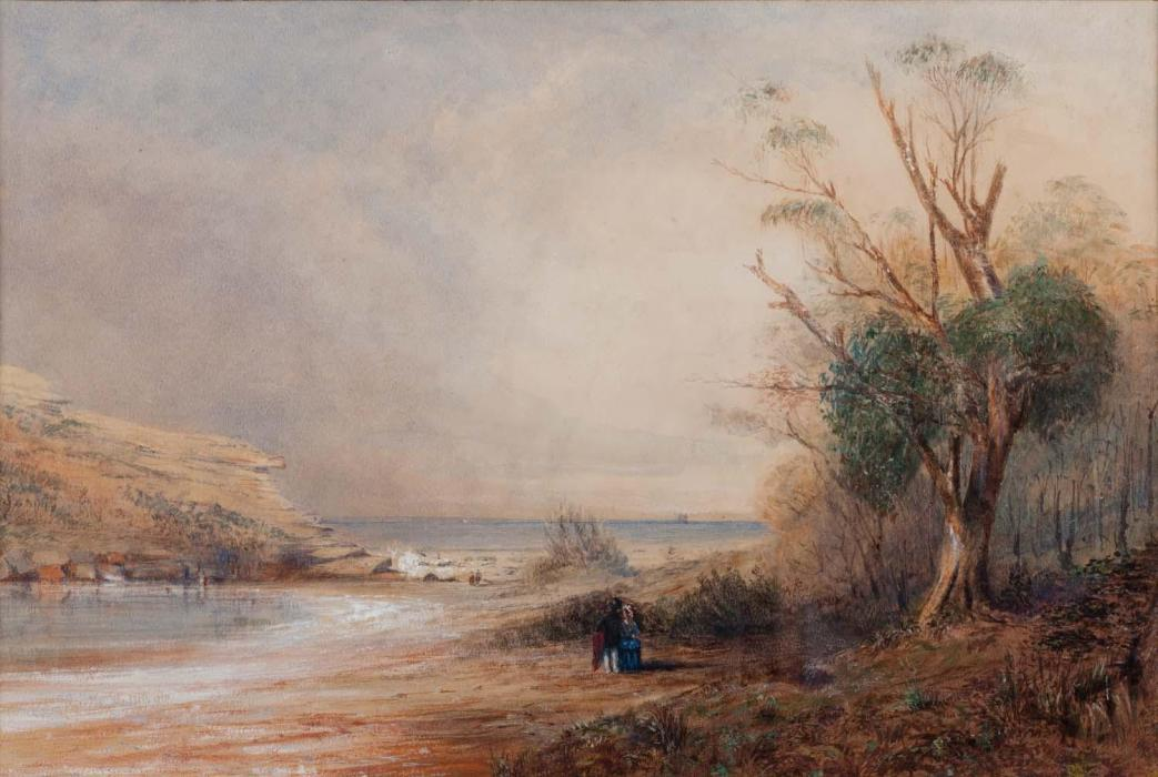 Uk Pair Of Oil Paintings On Board Modest John James Wilson 1818-1875 Seascapes Agreeable Sweetness